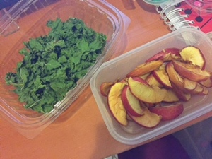 Dehydrated Apples & Kale (Meal Prep)