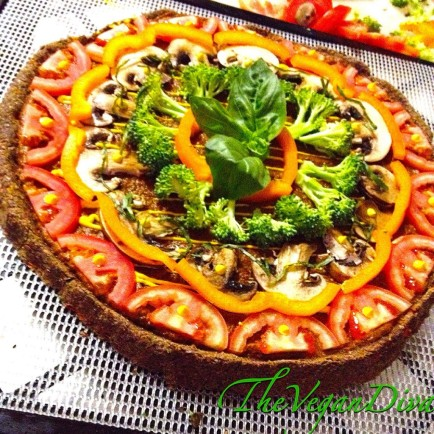 Raw Vegan Pizza